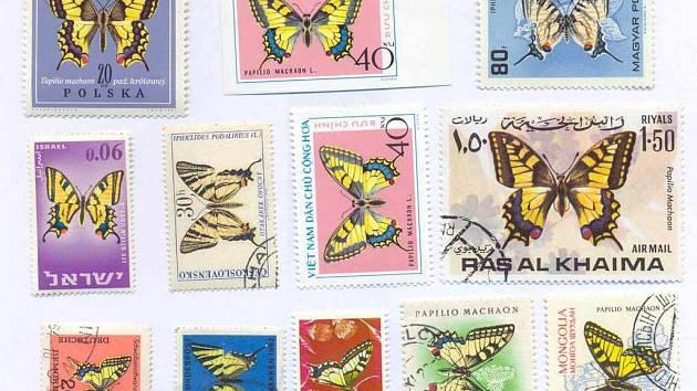Otakárci na známkách