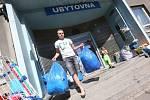 Ubytovna Modrá ve Střekově. Archivní foto.