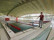 Plavecký bazén na Klíši.