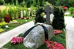 Zahradnické úpravy hřbitovů jsou na výstavě inspirující.