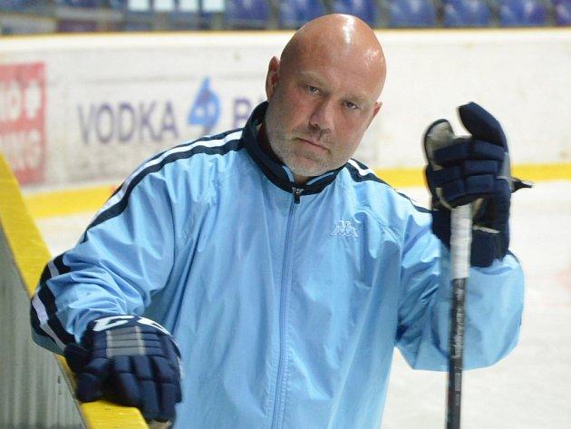 Trenér ústeckých hokejistů Miroslav Mach.