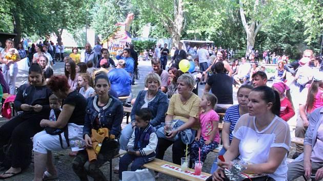 Den dětí v ústeckých Městských sadech
