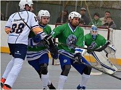 Hokejbalisté Elby DDM Ústí prohráli v rozhodujícím čtvrtfinále s Plzní 0:5.