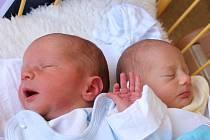 Michal a Jakub Kadeřábkovi se narodili 24.8.2015 (10.46 a 10.47) Anetě Kadeřábkové. Michal měřil 49 cm, vážil 2,84 kg. Jakub měřil 49 cm, vážil 2,48 kg.