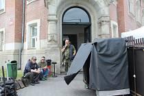 V Městských lázních v Ústí se natáčí norské drama