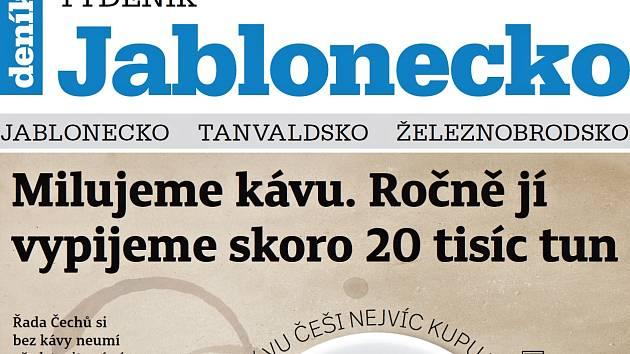 Vychází nový Týdeník Jablonecko