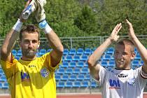 Fotbalisté Army porazili v domácím prostředí Znojmo 1:0 gólem kanonýra Veverky.