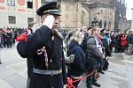 Severočeši vyrazili na inauguraci prezidenta Zemana.