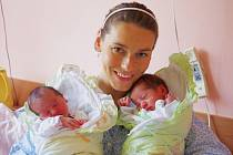 Weston a Eliška Rao, se narodili v ústecké porodnici dne 31. 7. 2013 (19.35 a 19.42) mamince Šárce Rao. Weston měřil 49 cm, vážil 2,9 kg. Eliška měřila 48 cm, vážila 2,8 kg.