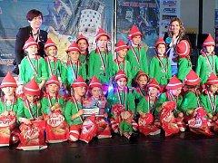 Tanečníci přivezli dvě stříbrné z mistrovství Čech.