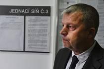 Starosta obce Malečov Petr Kůstka.