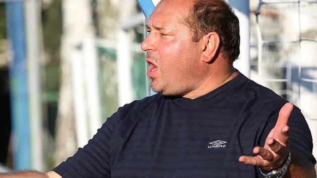 Zkušený trenér Martin Beránek.
