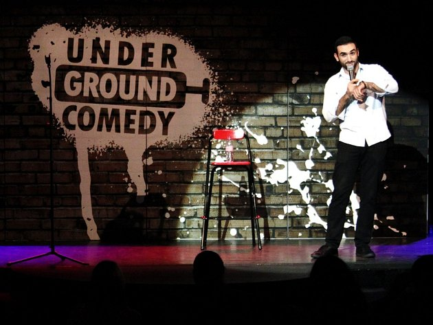 Stand-up show Underground Comedy.