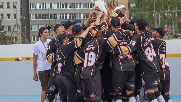 Elba DDM Ústí nad Labem - Mečouni Plzeň, 3. finále juniorské extraligy.