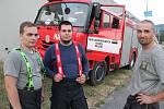 K důležité scéně filmový štáb využil dobrovolné hasiče z ústeckého Mojžíře, záběry vznikaly na střekovské straně Mariánského mostu.