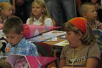 První školní den v ZŠ Řehlovice