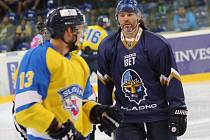 Hokejový zápas mezi Slovanem Ústí a Kladnem ozdobil Jaromír Jágr. Z výhry 6:4 se ale raduje Ústí!