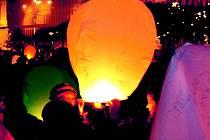 Vypouštění balónků