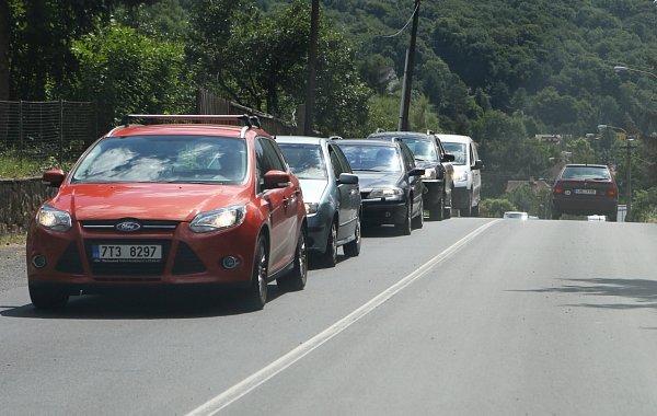 Oprava silnice komplikuje dopravu vBrné.