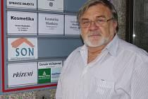 Obnovu pobočky podpořil Jaroslav Doubrava. Pobočka SON funguje v Grandu.
