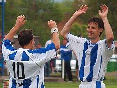 Fotbalisté Chabařovic prožili v 1.B třídě bídný podzim. Důvodů k podobné radosti moc neměli.