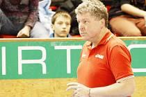 Trenér volejbalistů Ústí Jan Malina.