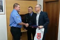 Ocenění ústeckých strážníků