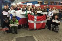 Dánská návštěva přijela na ZŠ Stříbrnická.