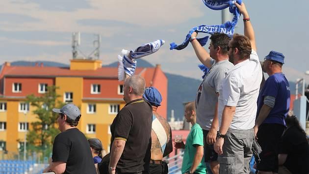 Ústečtí fotbalisté v letní přípravě vyhrávají, fanoušci mají důvod k radosti.
