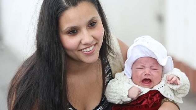 Běla Janová s dcerou Michalou.