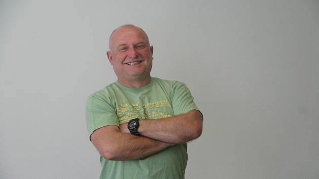 Fotbalový trenér Jan Štefko.