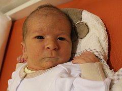 Jakub Kohlíček se narodil v ústecké porodnici 1.11.2016 (0.38) Julii Volfové. Měřil 51 cm, vážil 3,70 kg.