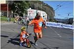 Závod handbikerů a Rodinný běh v Ústí nad Labem.