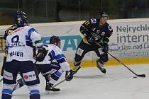 Hokejový zápas Ústí nad Labem a Benátky
