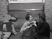 Všechny snímky dívek s Rettovým syndromem nafotila Jiřina Šmídová.
