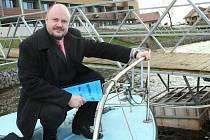 Radek Vonka je pro zavedení osobní lodní dopravy
