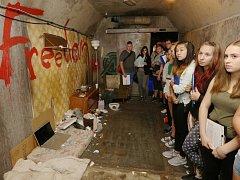 Příběhy závislých přibližuje školákům vlak na Střekově.