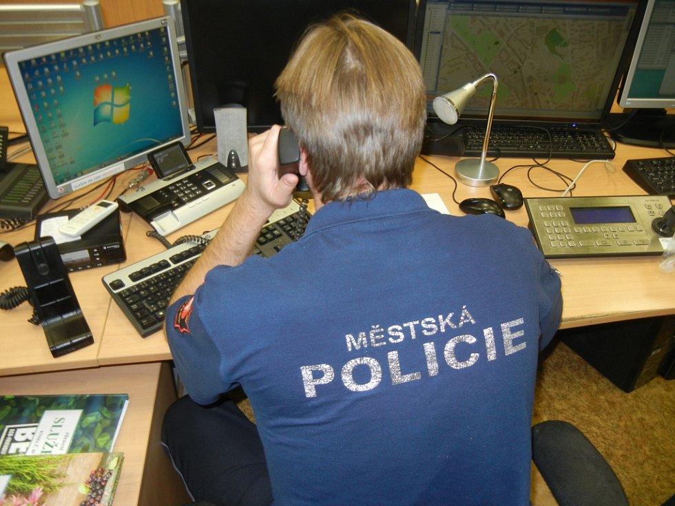 Městská policie Ústí nad Labem, operační středisko.
