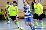 Arma Women Cup - mezinárodní fotbalový turnaj žen v Ústí n/L. Utkání Serkowitzer - Ústí n/L (modrobílé).