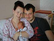 Lukáš Tomas Link se narodil v ústecké porodnici 15.4.2017 (21.39) Lucii Tlačbabové. Měřil 50 cm, vážil 3,35 kg.