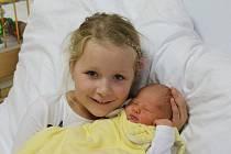 Amelie Thomas se narodila Janě Thomas z Litoměřic 1.10. v Ústí n.L. (2,98 kg a 47 cm).