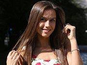 Angelika Kostyshynová z Ústí nad Labem se pyšní titulem Miss Léta 2017.