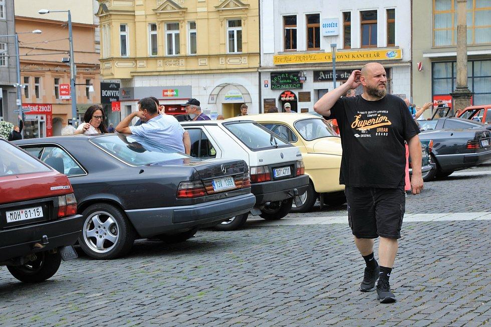 Veteráni v Ústí nad Labem.