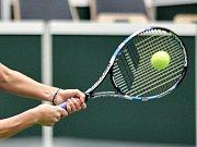 Karolína Plíšková na turnaji v Paříži