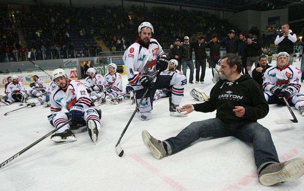 Rozhodující utkání Ústí s Chomutovem.