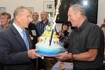 Nejstarší aktivní veslař Jindřich Janus oslavil 90. narozeniny.
