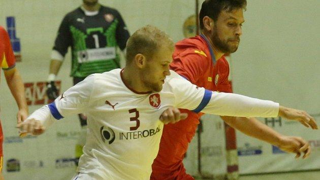 Reprezentant ve futsalu Radim Záruba.