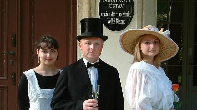 Dny evropského dědictví - oživený zámek Velké Březno. Archivní foto