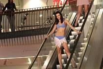 Jarní módní show ku příležitosti 500 dnů od otevření obchodního centra Forum v Ústí nad Labem.