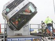Dopravně bezpečnostní akce policie ČR a Německa zaměřená na kamiony a autobusy.